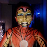 Kickaz Iron Man Makeup