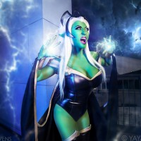 Yaya Han invaded by the Skrulls