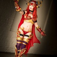 Alexstrasza World of Warcraft by KawaiiTine Cosplay