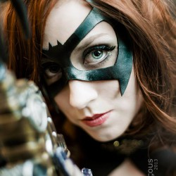 Punk Up with this Steamy Bat Girl Cosplay