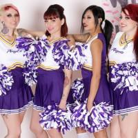 Burning Angel unleashes Vampire Cheerleaders