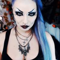 Transfixed by Alessa Crow's Dark Eyes