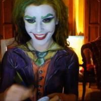 Joker-esque Kickaz Makeup