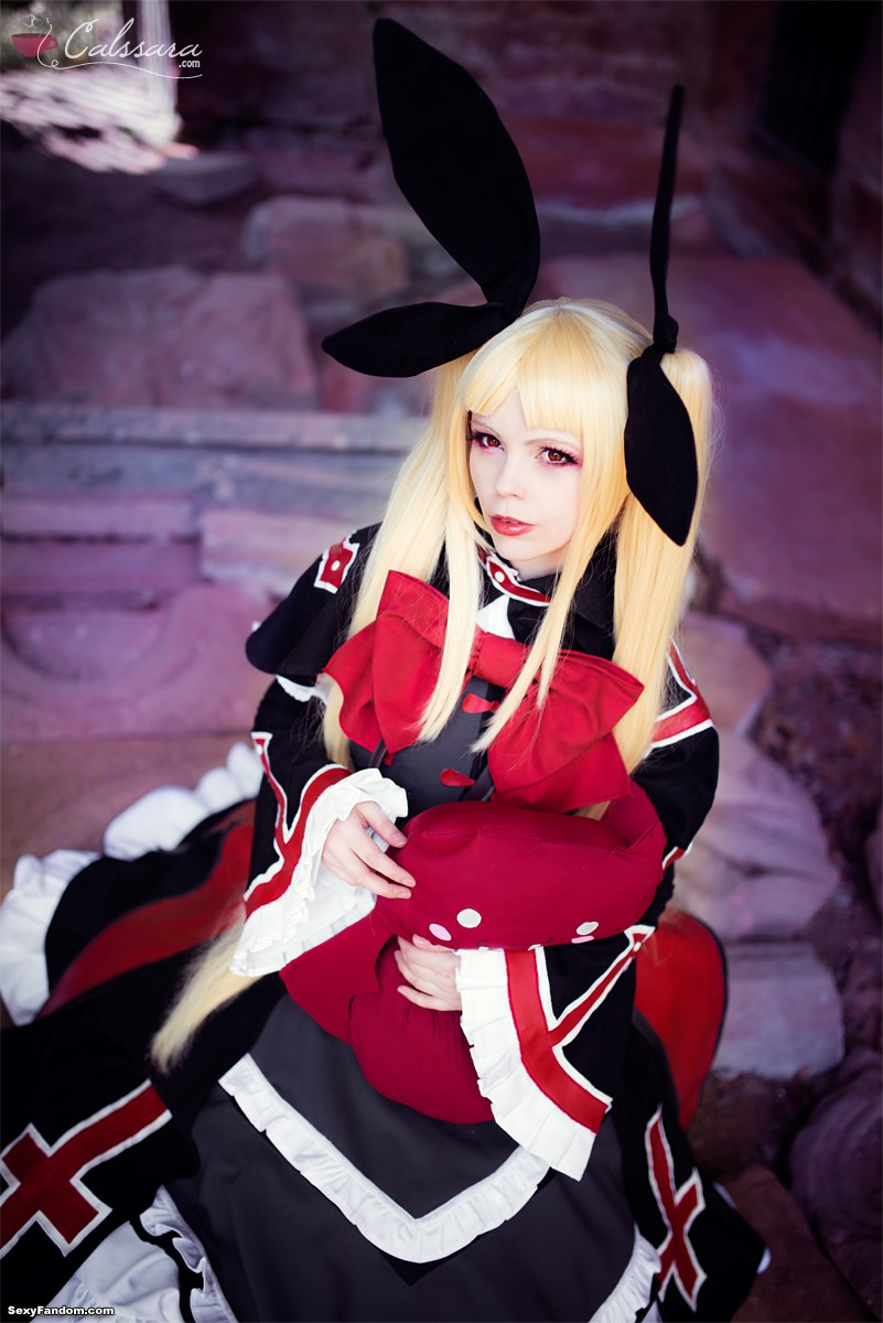 A young Dracula from Blazblue