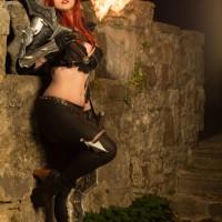 Katarina in the Flame