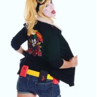 Naughty or Nice?: Bree's Harley Quinn Cosplay