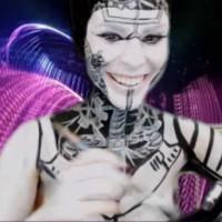Breathtaking Kickaz Biomech Bodypainting Show