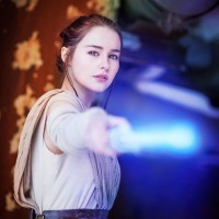 Starbit Uses the Force as Rey