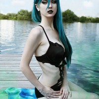 Queen Chrysalis (swimsuit version) by Akina Gasai Cosplay