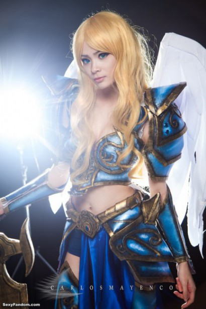 League of Legends' Kayle by xxPuffy