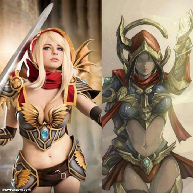 Andy Rae's World of Warcraft Paladin Cosplay