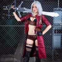 She Bangs!: Miss Dante Cosplay by Raychul Moore