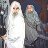 Badass Saruman and Gandalf LOTR Cosplay by bassa82 and TatharielCreations