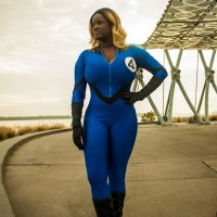Josephine's Fantastic Four Sue Storm Cosplay