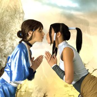 Mea and Marylin Legend Of Korra Sexy Fight Cosplay