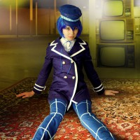 Stacy Dressed To Kill In Naoto Cosplay
