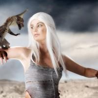 Mother of Hotness Marylin Cosplays As Daenerys Targaryen
