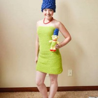 Inventive Marge Simpson Cosplay by stephany719