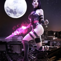 Psylocke by Vampy Bit Me Cosplay