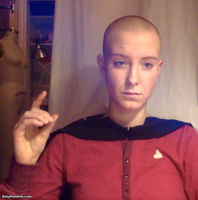 Jean-Luc Picard Star Trek Cosplay by Oxphmy