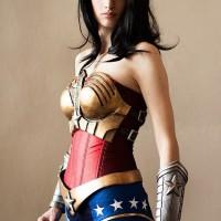 Striking Wonder Woman Cosplay