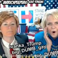 Hilarious Trump Versus Hillary Cosplay