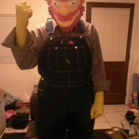 Hilarious Groundskeeper Willy Simpsons Cosplay byStiffkick80