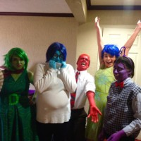 Fun Inside Out Cosplay by thequeenoficedragons, fanaticalnerdgirl, spookiprince, ghcstgal, and iliketordles