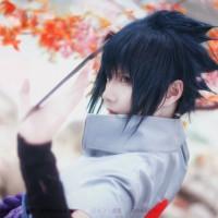 Xi Nemesia as Uchiha Sasuke