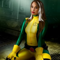 Rogue Cosplay Cleavage With Liuna