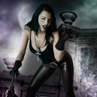 Mea Lee Death Cosplay Dark Desire