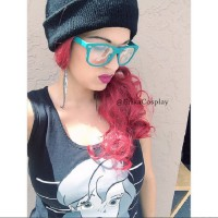Hipster and Bad-ass Ariel Cosplay by Erika Perez