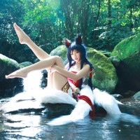 Ahri by Julia Cosplay