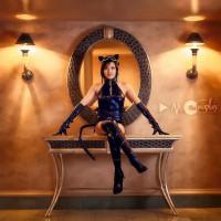 AME COMI Catwoman by XxfruitcakexX