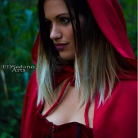 Sexy Red Riding Hood Cosplay by Erika Perez