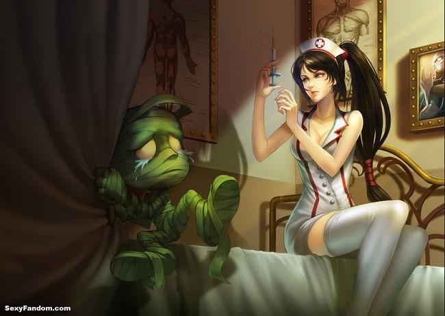 League of Legends: Akali Nurse