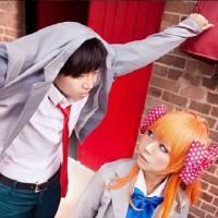 Nozaki and Sakura Cosplay by The Wonyo and Kana Kay