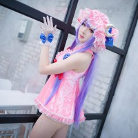 Racy Patchouli Knowledge Cosplay