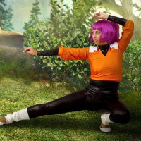 Liuna Is Ready For More Than A Fight In Her Hot Yoruichi Cosplay