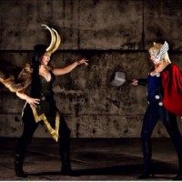 Sisters Conflict!: Lady Thor and Lady Loki Cosplay by Artful Anarchy
