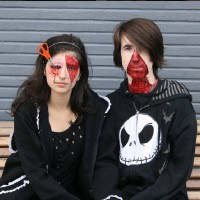 Creepy Couple Cosplay by Andivi