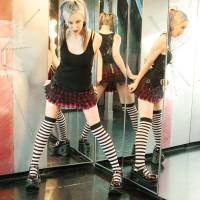 Flexible Schoolgirl Alecia Joy