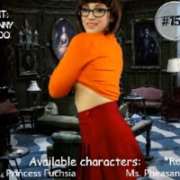 Mystery Party DM Veronica Chaos Cosplays Velma Dinkley