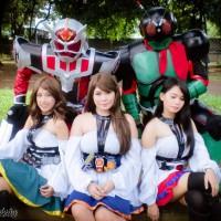 Kamen Rider Photoshoot