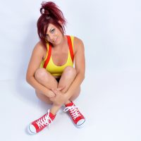 Hot Misty Cosplay Strip And Intense Erotic Training