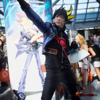 Yusei cosplay from Yugioh 5D