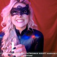 SilverCowgirl Rocks Catwoman Style