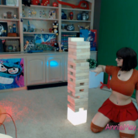 AnimeAnnie Velmas out with a tower of goodies