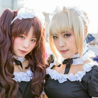 Japan Winter Comiket Cosplay Day 1