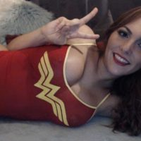 Woah! Gemma Roxx is doing Justice to Wonder Woman